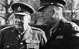 Churchill et Eisenhower